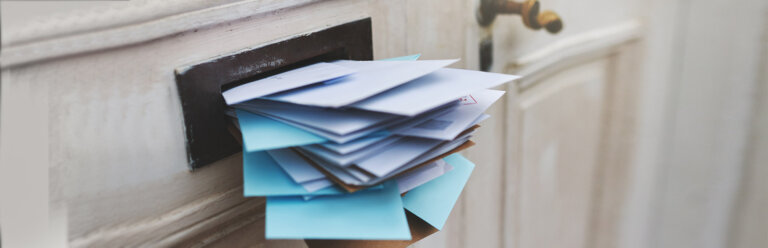 Direct mail post