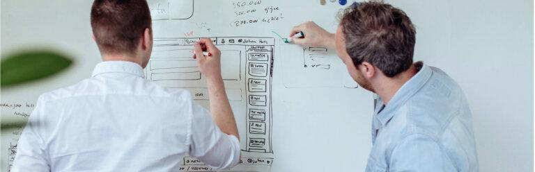 Website ontwerpen UX | vacature graphic designer