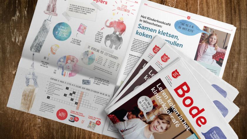 Leger des Heils bode tijdschrift - Magazine laten maken