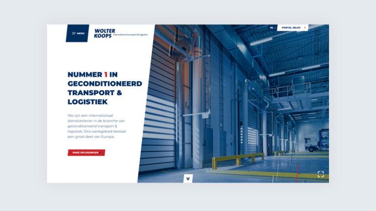 Website ontwikkelen voor Wolter Koops