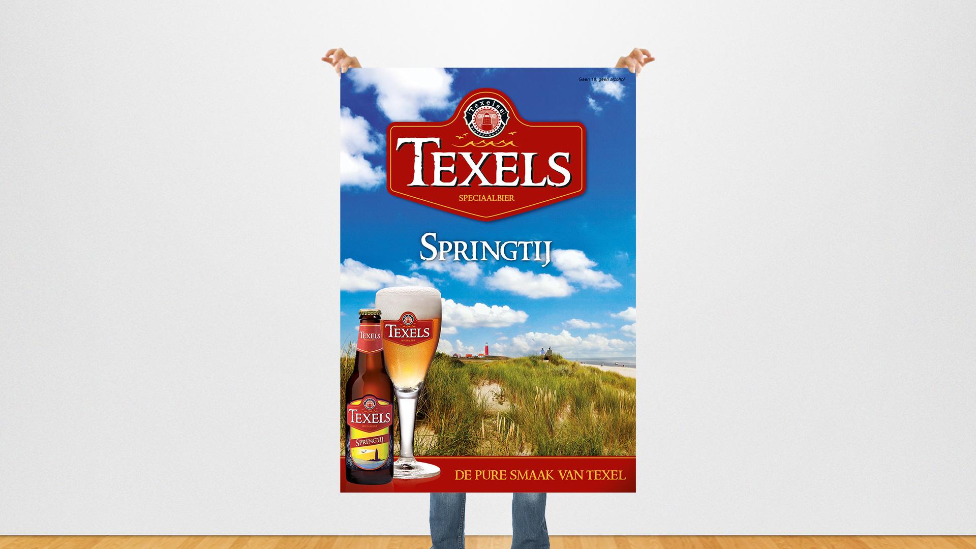 Texels advertentie