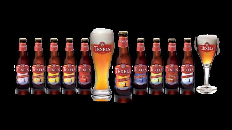 flesjes packaging Texelse bierbrouwerij - brand identity