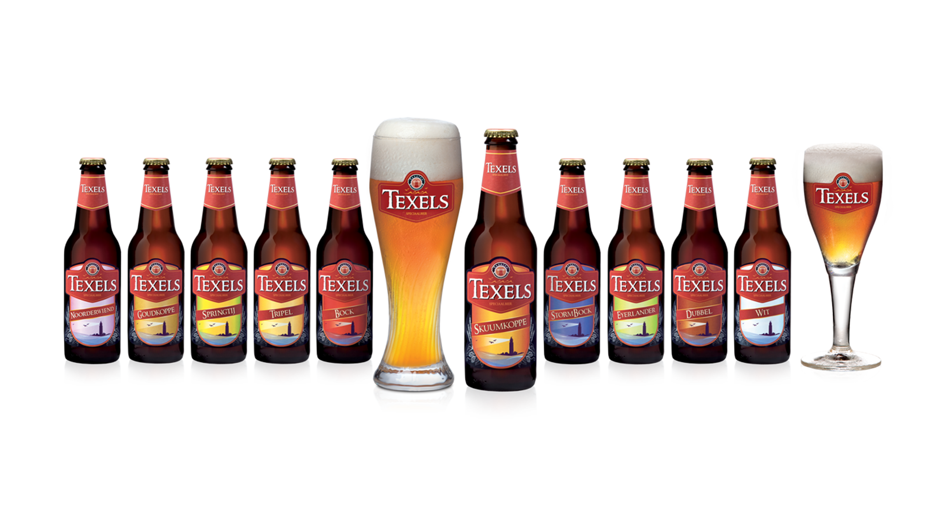 flesjes packaging Texelse bierbrouwerij