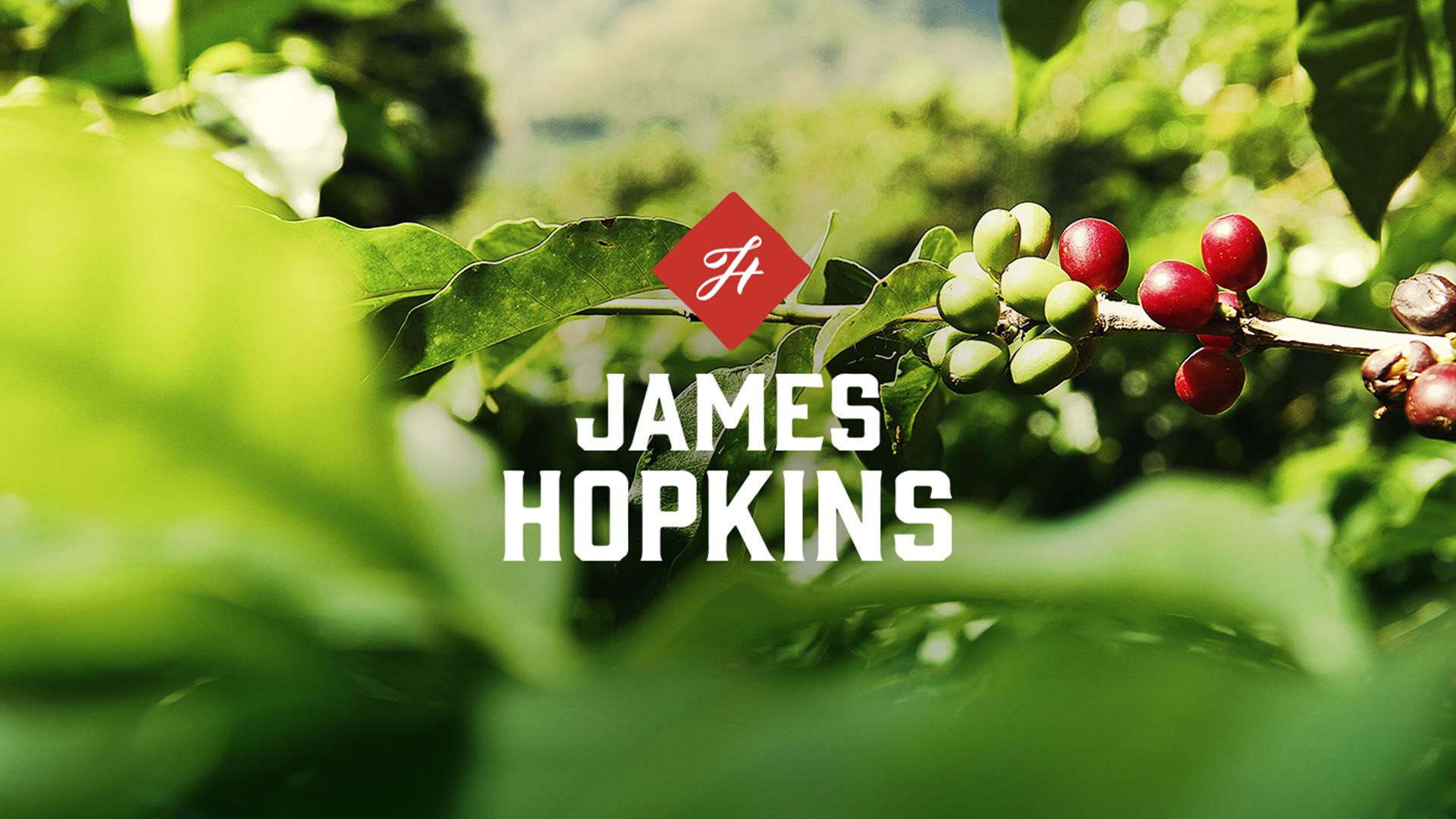 James Hopkins - headerplaat