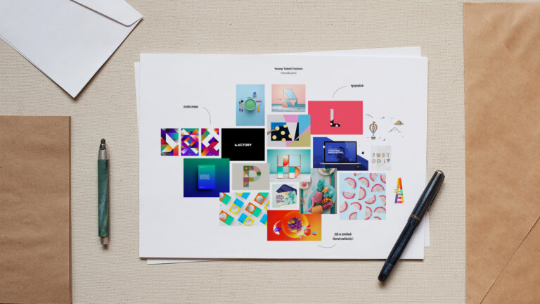 moodboard Young Talent Factory