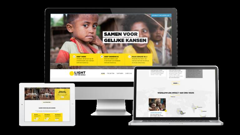 online desktop laptop - corporate huisstijl