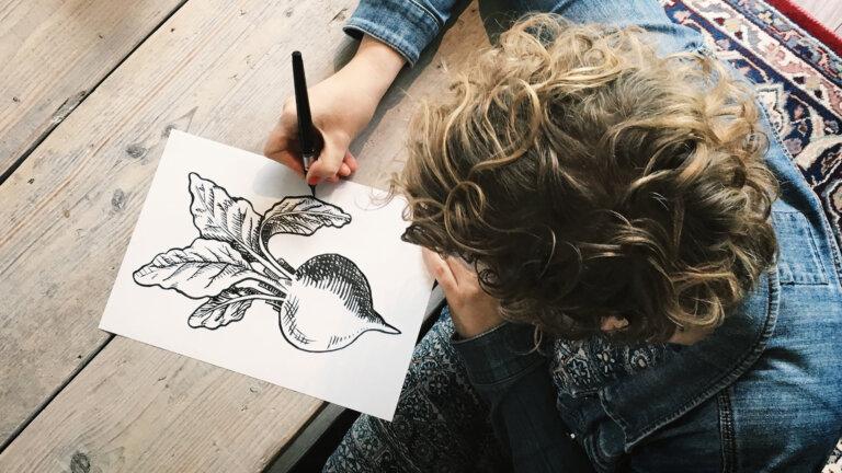 Illustraties maken voor Beets