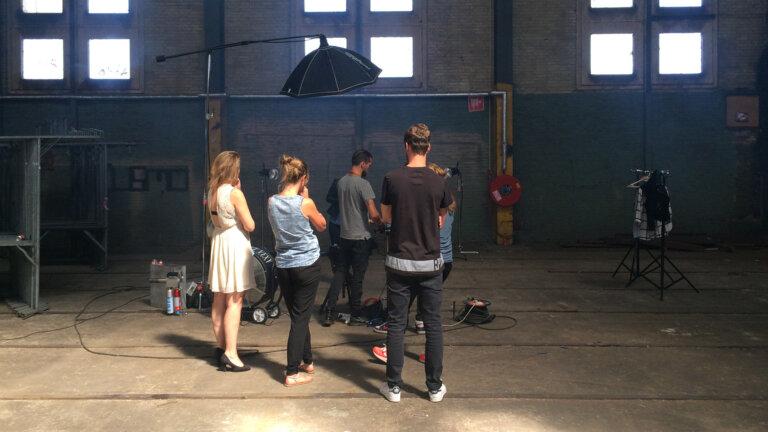 fotograaf fotoshoot Young Talent Factory