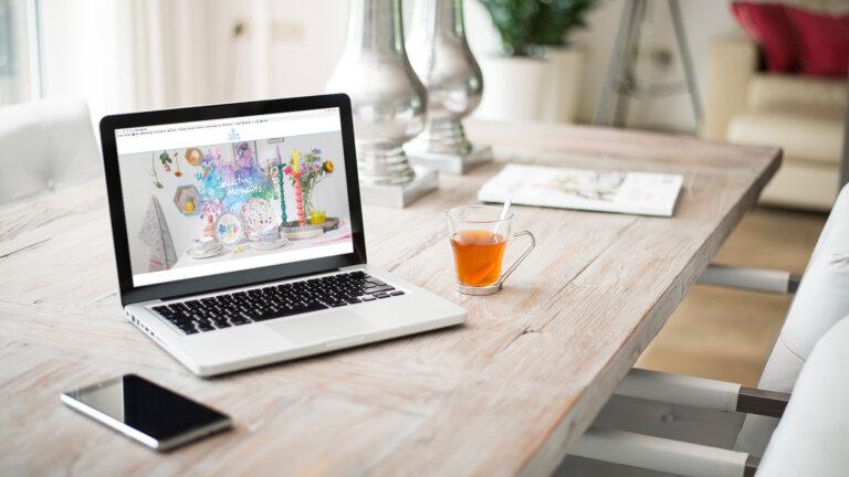 website Flora Castle - onderdeel online campagne
