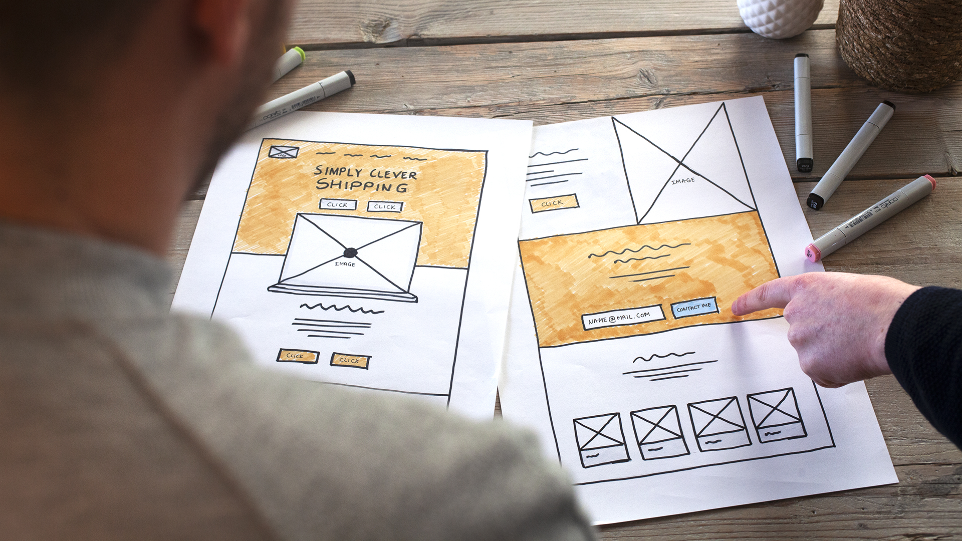 ShipitSmarter UX/UI - Website ontwikkelen
