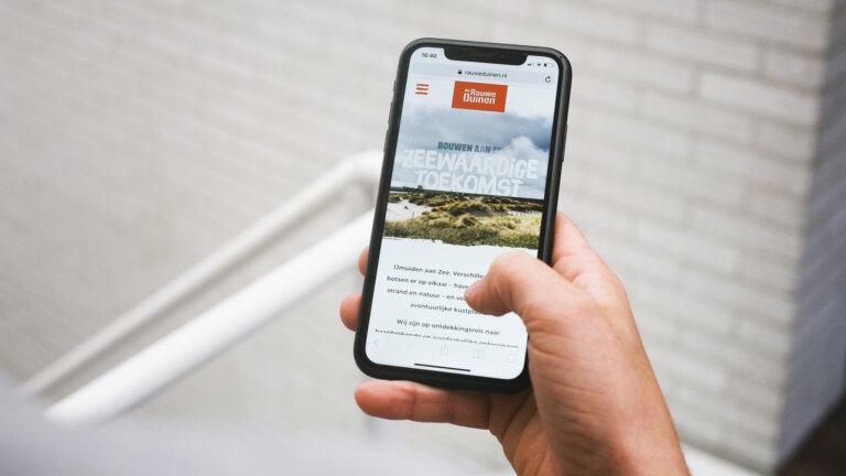 Mobile Rauwe Duinen - merkconcept