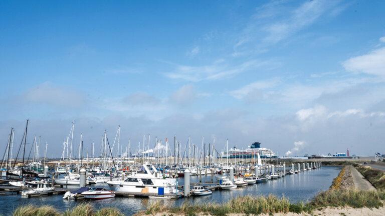 Haven IJmuiden aan Zee - Rauwe Duinen