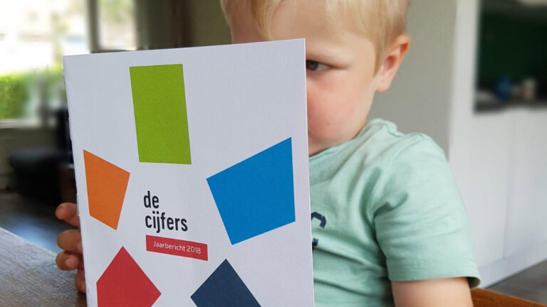 Kind leest sprank jaarbericht