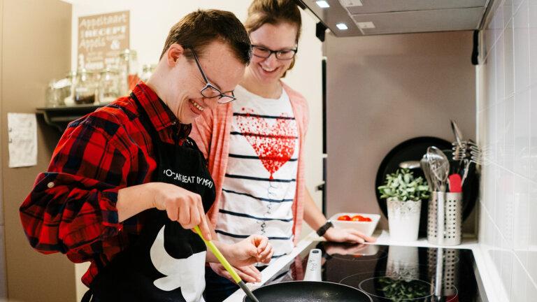 Sprank bewoner - koken