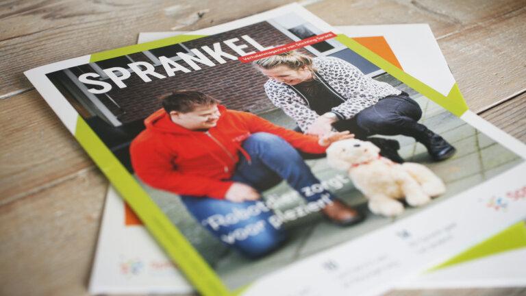 Magazine laten maken - magazine Sprank