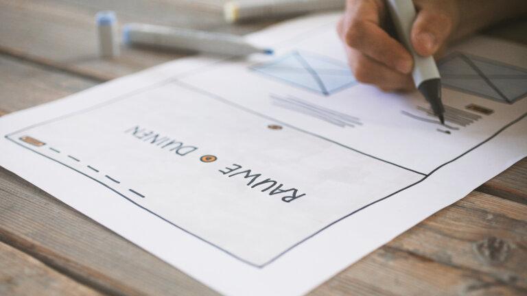 Merk concept - Rauwe duinen - UX-design