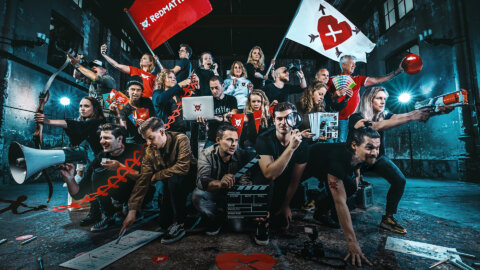 Hartenrakers campagne - Creatief marketingbureau Redmatters