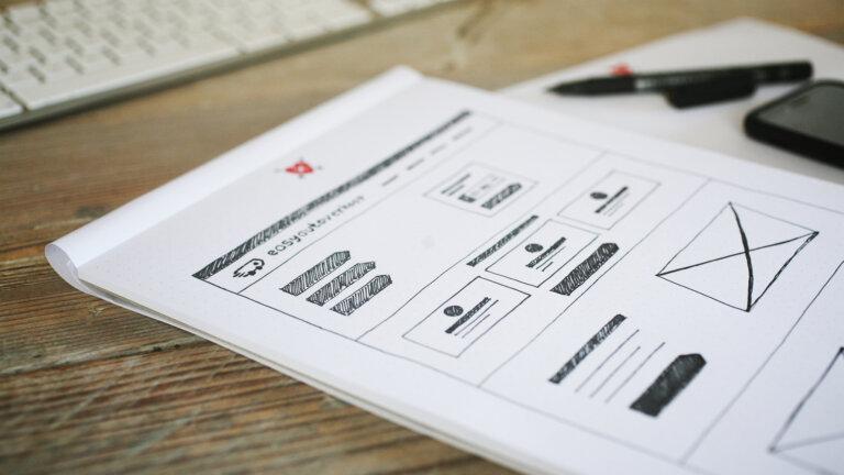 Wireframes - Website ontwikkelen voor easyautoverkoop.nl