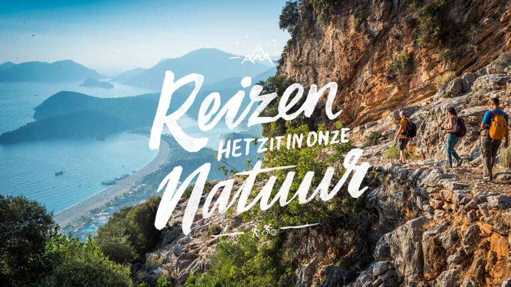 Reizen het zit in onze natuur - header