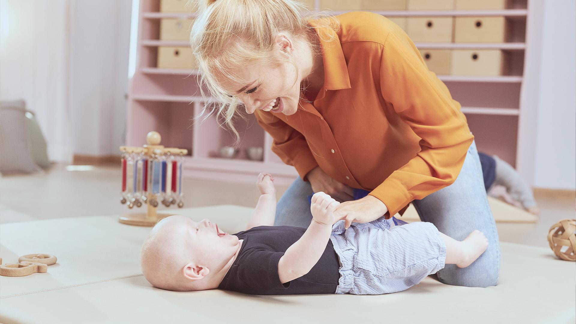 Kindergarden Wervingscampagne - shot uit de campagnevideo