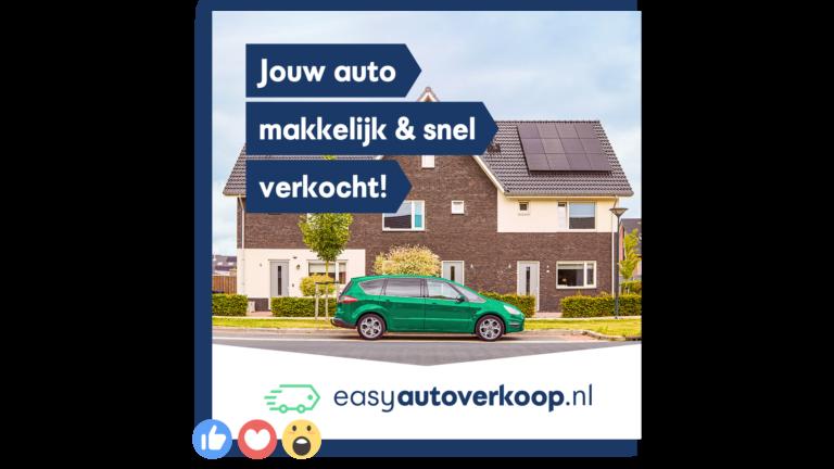 Online marketing banner - merkcampagne easyautoverkoop.nl
