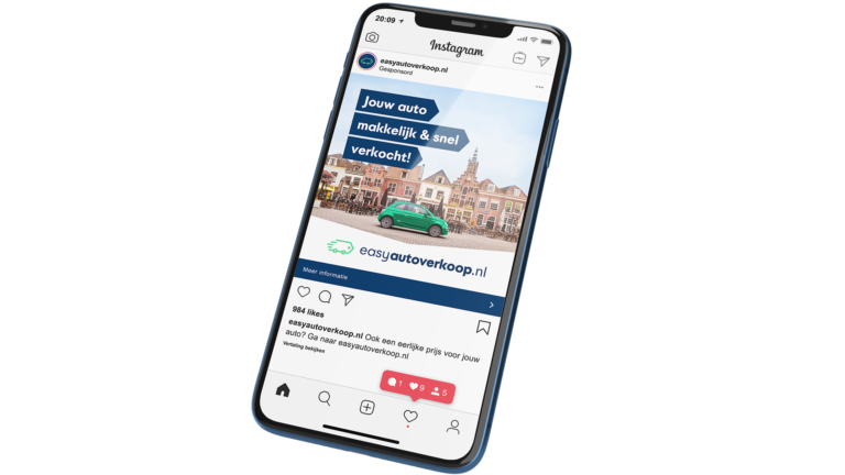 Online marketing uitbesteed aan Redmatters Door Easyautoverkoop