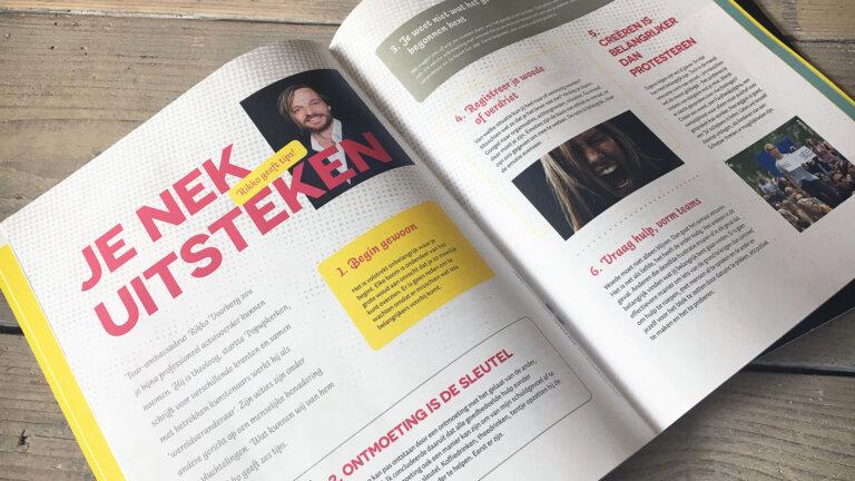 Magazine Moed ontwerpen