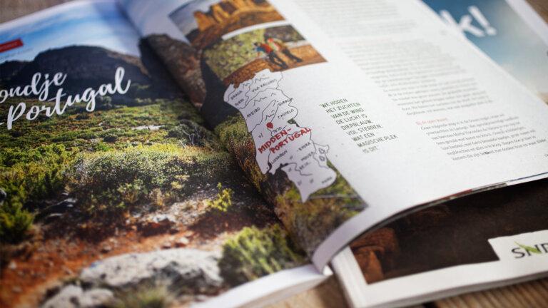 Magazine gemaakt voor SNP