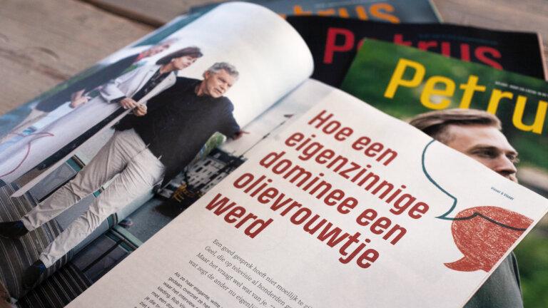 Petrus magazine gemaakt door Redmatters