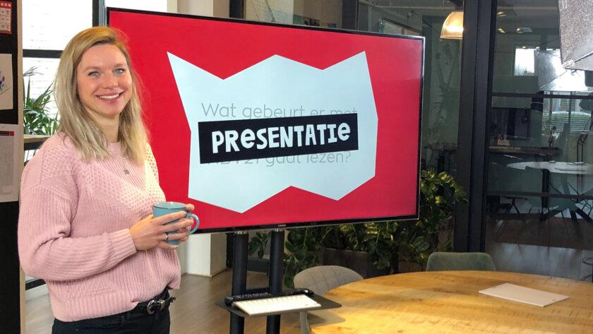 Online presentatie tijdens coronacrisis