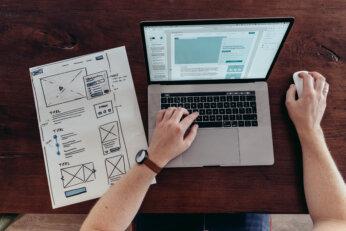 Creatie van een website - Redmatters