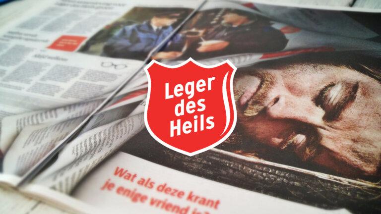 Hartenrakers Leger des Heils krant advertentie