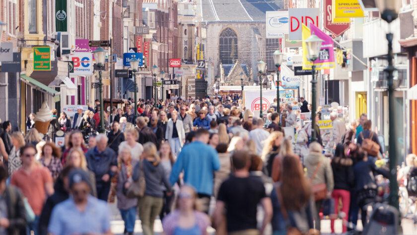 Winkel straat - doelgroep - internationaal merk