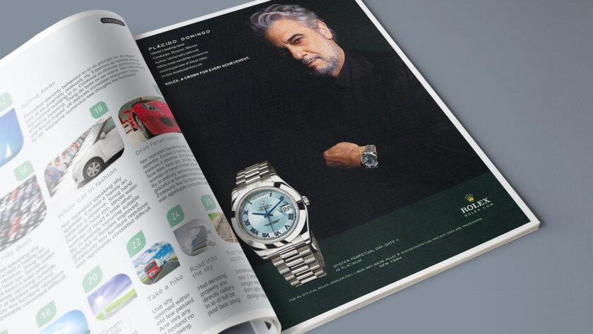Rolex advertenties