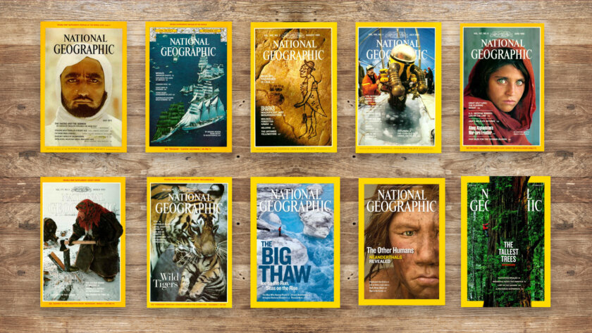 Magazines national Geographic