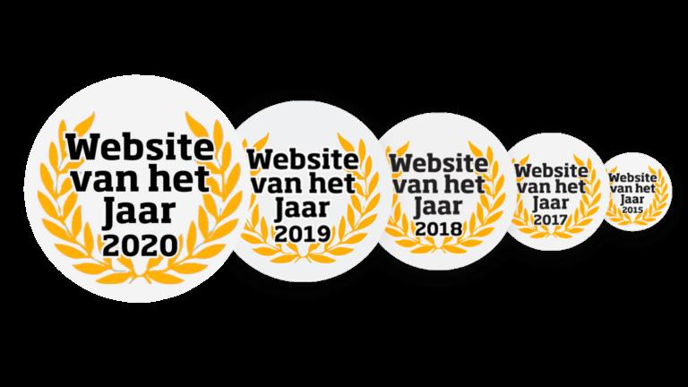 Website van het jaar Unique 2020