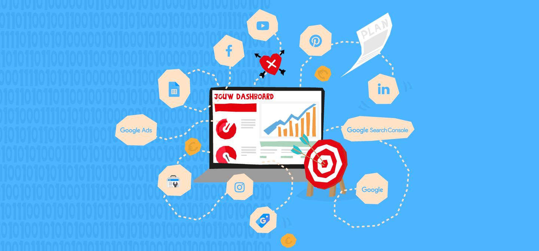 Online marketing dashboard - online wervingscampagne